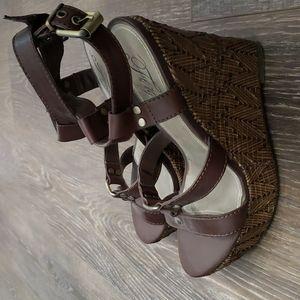 Fergie Wedge Sandal 8